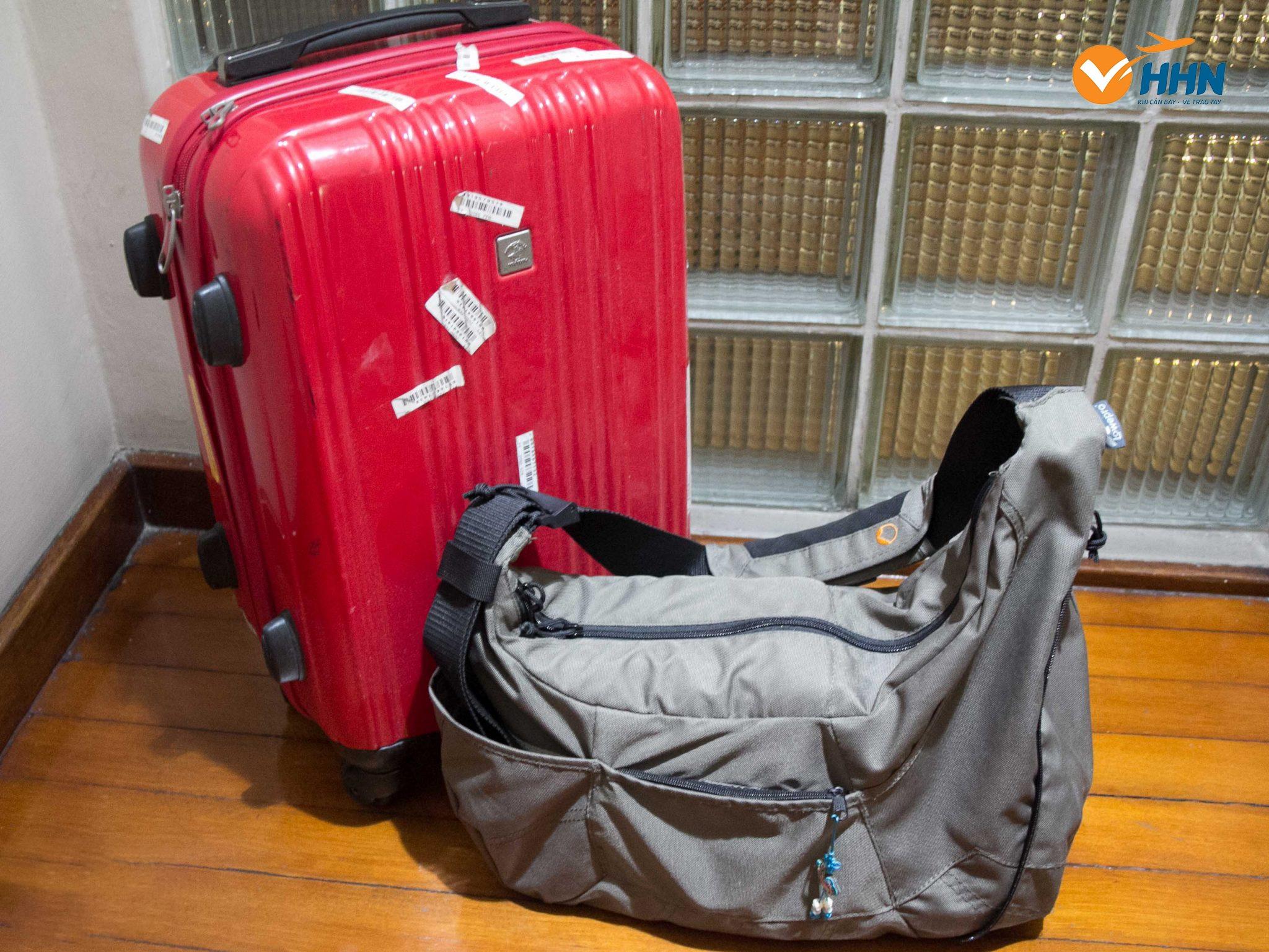 Kích thước hành lý xách tay mang lên máy bay