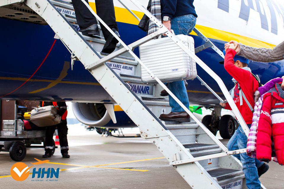 quy định kích thước - tiêu chuẩn vali hành lý xách tay
