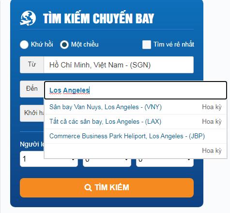 Cách book vé máy bay đi Mỹ tại Đồng Nai nhanh giá tốt