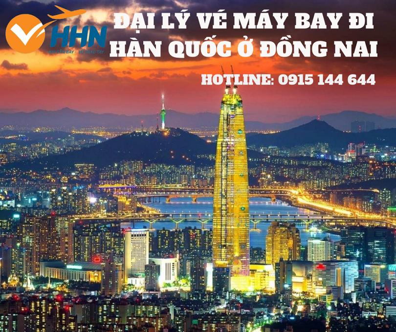 Đại lý vé máy bay đi Hàn Quốc ở Đồng Nai xuất phát từ sân bay nào?