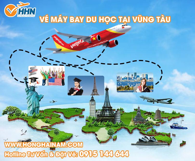 Mua vé máy bay du học Vũng Tàu