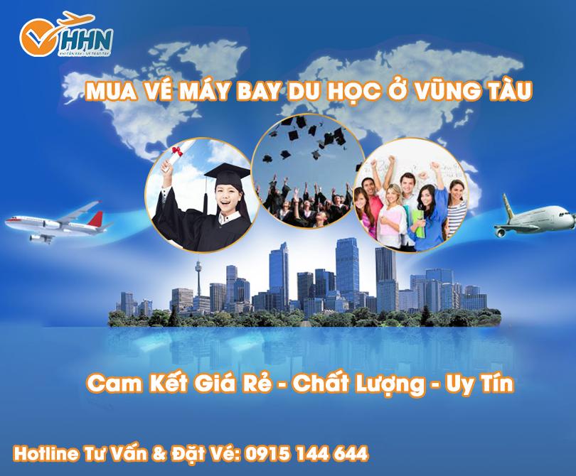 Đại lý bán vé máy bay du học ở Vũng Tàu