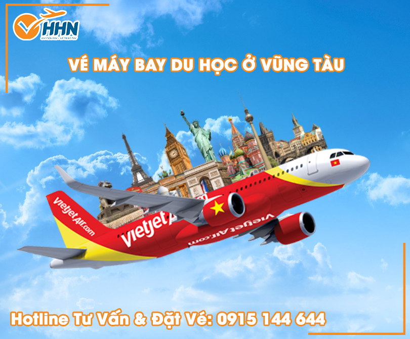 Mua vé máy bay du học Vũng Tàu tại Hồng Hải Nam