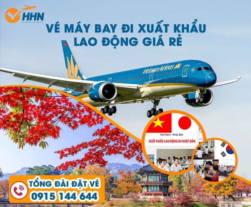 Tại sao nên mua vé máy bay xuất khẩu lao động tại Hồng Hải Nam?