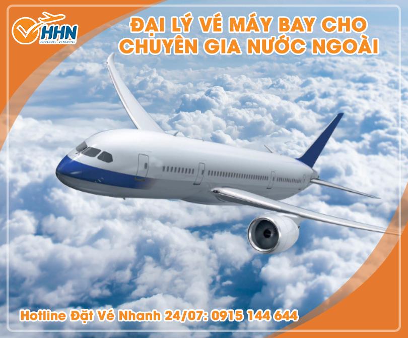 Chi phí vé máy bay cho chuyên gia nước ngoài đến Việt Nam