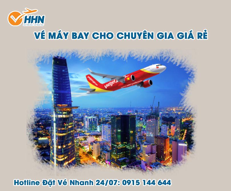 Vé máy bay cho chuyên gia từ nước ngoài về Việt Nam