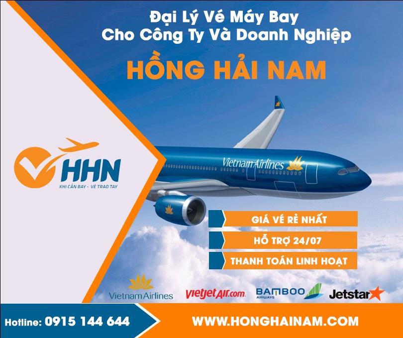 Vé máy bay cho công ty và doanh nghiệp tại Hồng Hải Nam