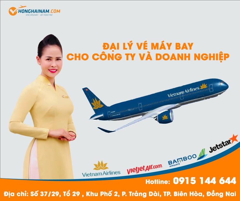 Hồng Hải Nam - Sự khác biệt khi cung cấp vé máy bay dành cho DOANH NGHIỆP