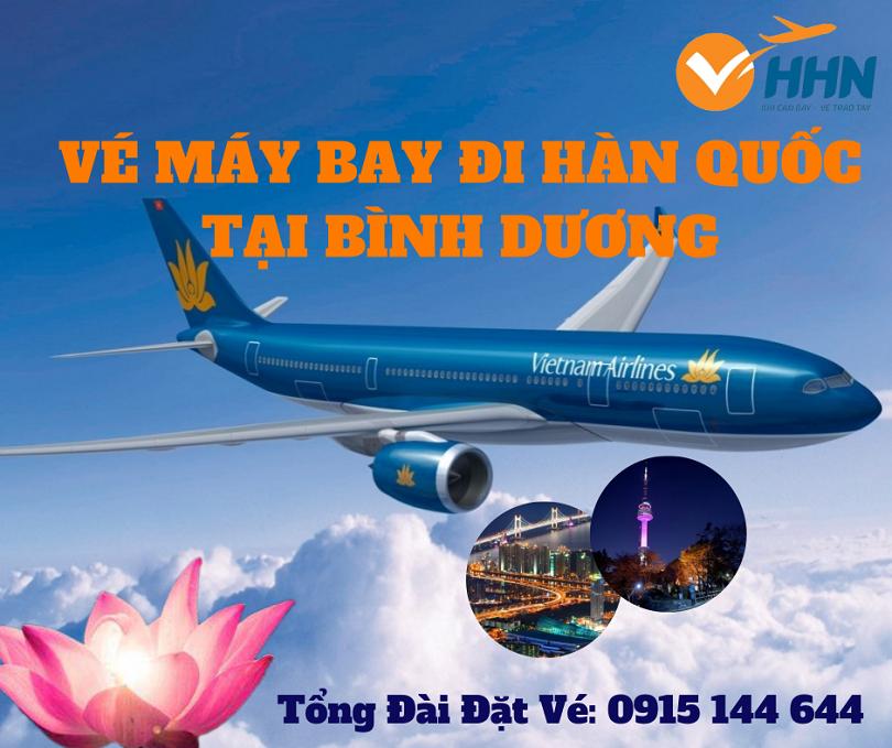 Đại lý vé máy bay đi Hàn Quốc ở Bình Dương tại Hồng Hải Nam