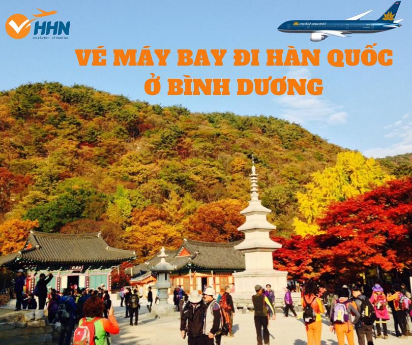 Đại lý vé máy bay đi Hàn Quốc ở Bình Dương xuất phát từ sân bay nào?
