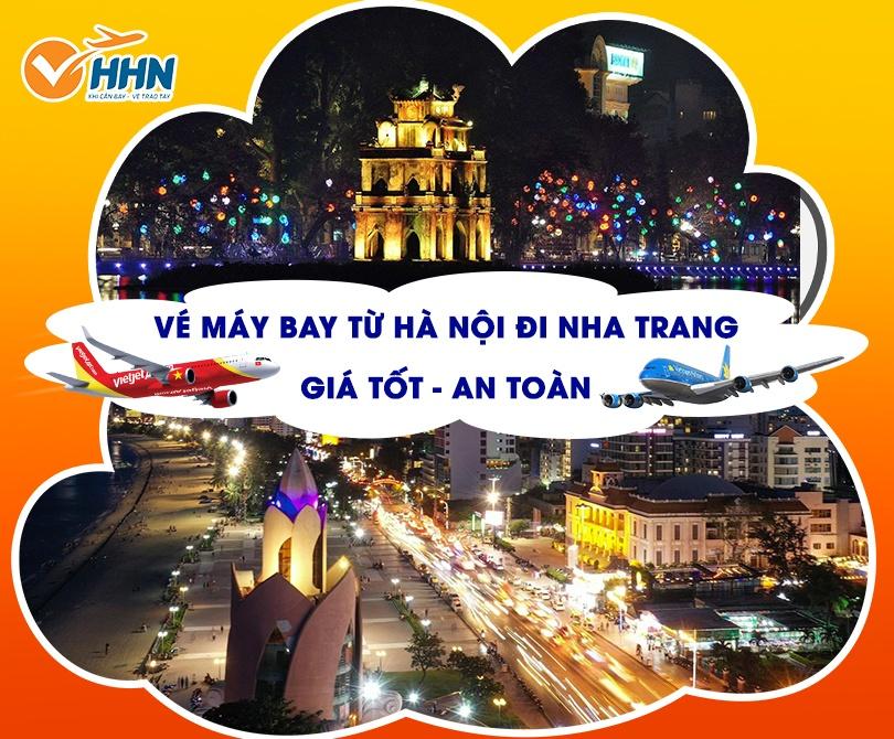 Vé máy bay Hà Nội Nha Trang giá rẻ